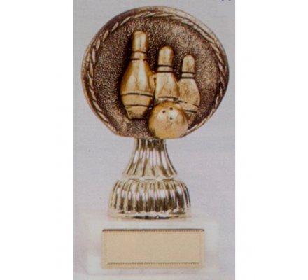 Trophée bowling 19 cm