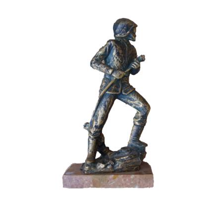 Trophée pompier 38 cm
