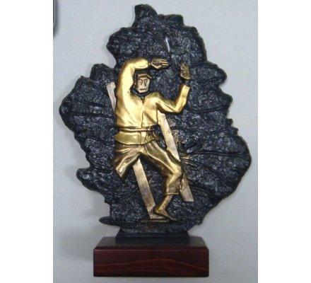 Trophée judo 27 cm - CR8175