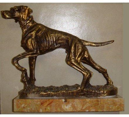 Trophée chien 24 cm