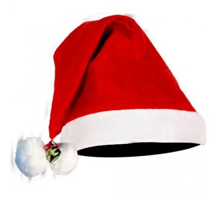 Bonnet de Noël à grelot