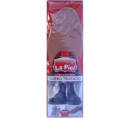 Paire de semelles pour chaussures  Cuir