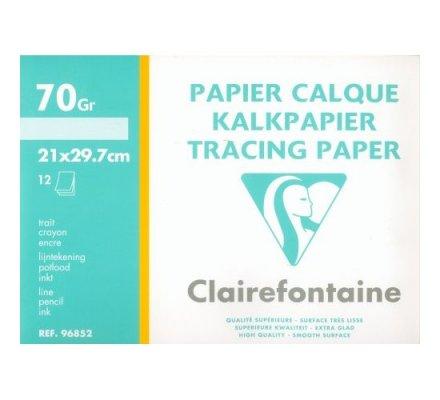 Papier calque A4 - 12 feuilles