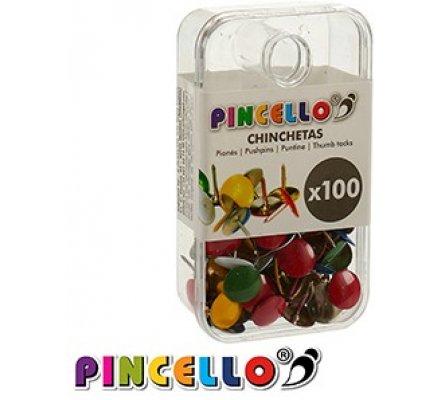 Punaises de couleur x 100