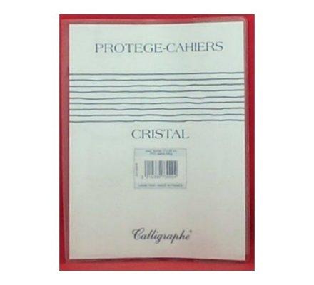 Protège-cahier 17x 22 transparent