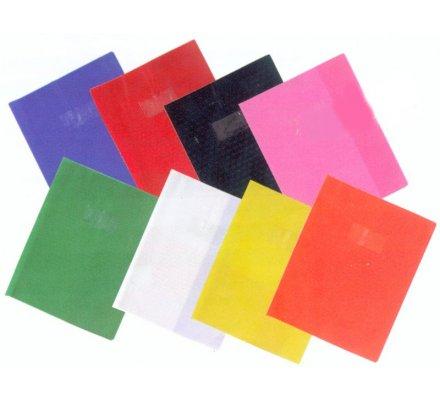 Protège-cahier opaque 17x22 Bleu