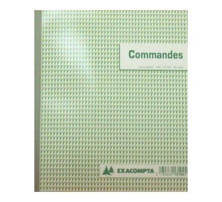 Carnet de commandes - 50 dupli - 21x18cm