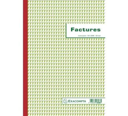 Carnet facturation - 50 Tripli A4