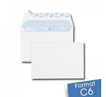 Lot de 50 enveloppes - 114 x 162 mm