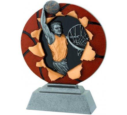 Trophée basket 20 cm