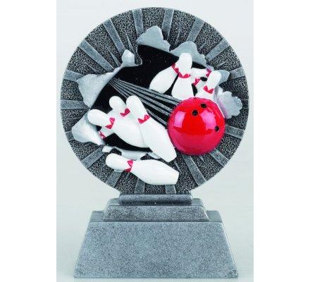 Trophée bowling 20 cm