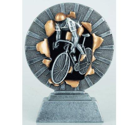 Trophée cyclisme 20 cm.