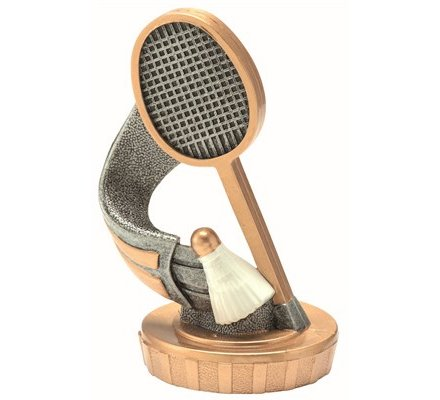 Figurine badminton 80mm