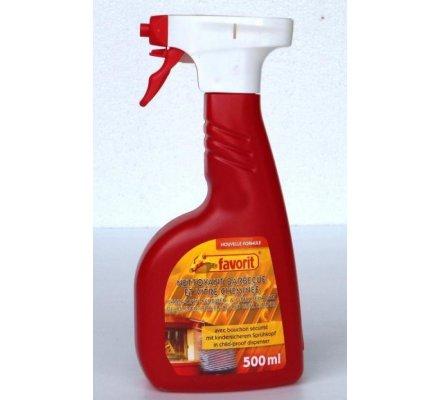 Spray nettoyant grilles de barbecue / vitre d'insert