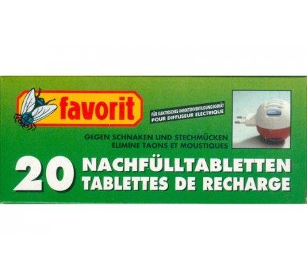 20 recharges anti-moustiques