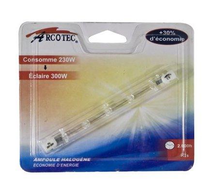 Ampoule halogène crayon