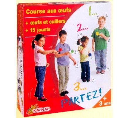 Kit course aux oeufs + 15 petits jeux