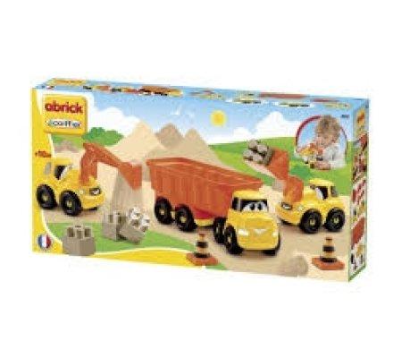 3 camions de chantier