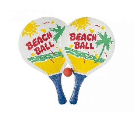 Raquettes de beach-ball x 2