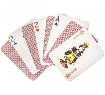 Mini jeu de 54 cartes