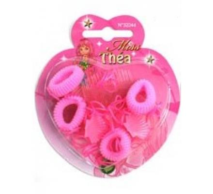 Accessoires cheveux coeur Miss Théa
