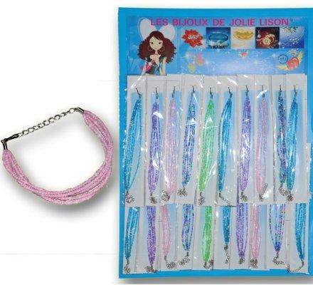 20 bracelets perles