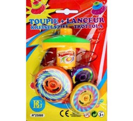 Toupie + lanceur