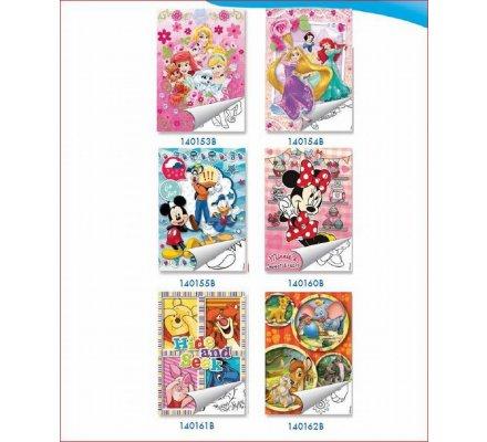 Coloriage et stickers A5 disney
