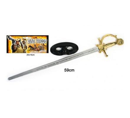 Epée armée zorro