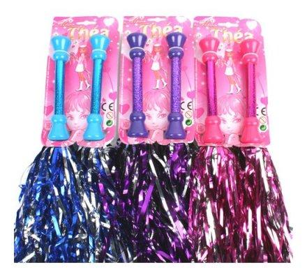 1 paire de bâtons Pom Pom Girl