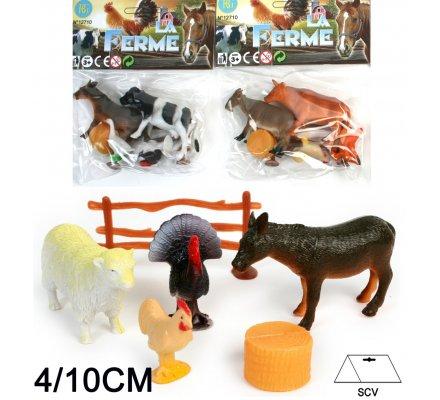 Animal ferme set 4 pièces
