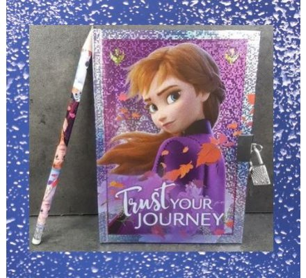 Cahier intime + 1 stylo Frozen II