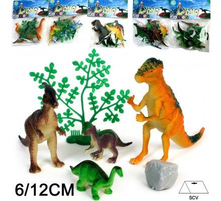 Animal Dino set 4 pièces