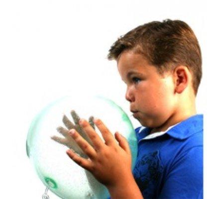 Ballon lumineux à gonfler