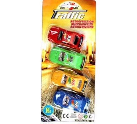 4 voitures sport