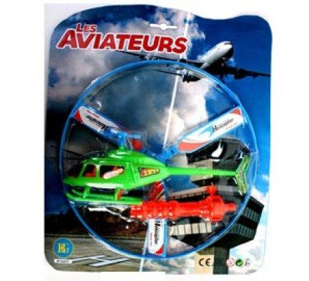 Hélicoptère + lanceur
