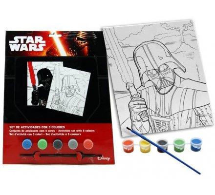 Jeu d'activités 5 couleurs Star Wars