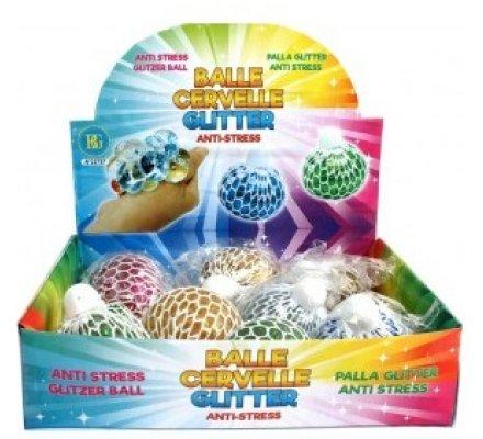 Balle cervelle Glitter - anti-stress