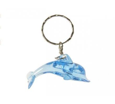 Lot de 12 porte-clés dauphin