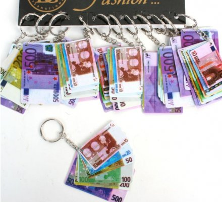 Porte-clé monnaie euro x 12