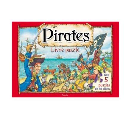 Livre / 5 puzzles / Les pirates
