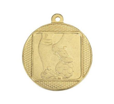 Médaille football OR 45 mm