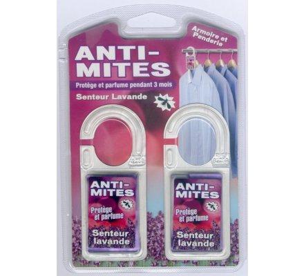 Anti-mites / 2 crochets x 3 gr