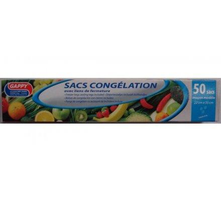 Sacs congélation x 50 : 22 x 35 cm