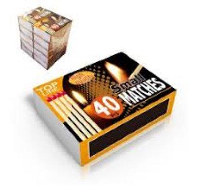 10 petites boîtes allumettes ''fumeur''