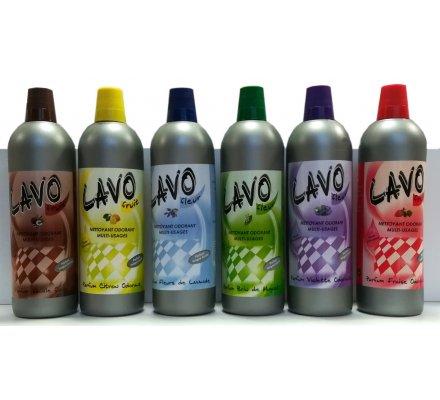 Offre découverte de 6 nettoyants LAVO-FRUITS/FLEURS