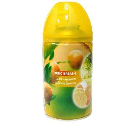 Vaporisateur d'ambiance 250 ml  parfum : Citron et bergamote