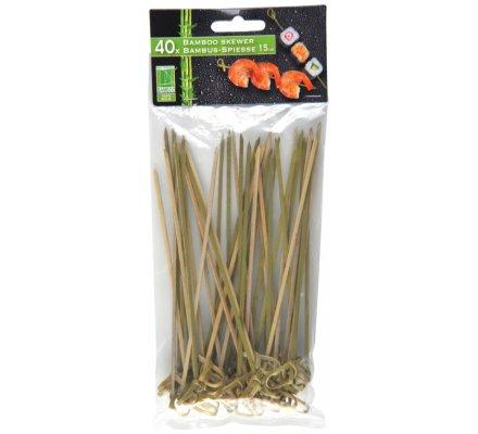 40 pics en bambou / 15 cm