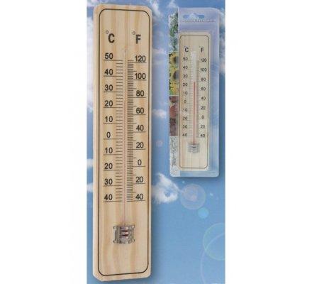 Thermomètre d'extérieur en bois