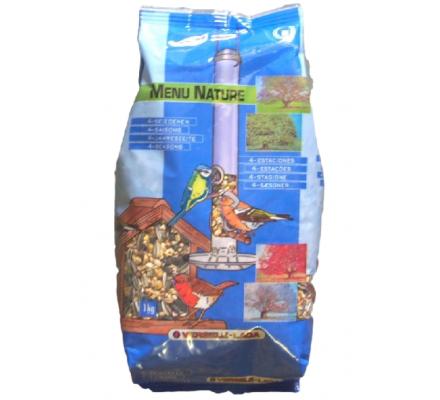 1 kg d'aliments pour oiseaux de la nature